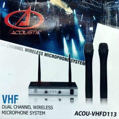 Microfono Inalambrico Acostic Vhfd113 - 2