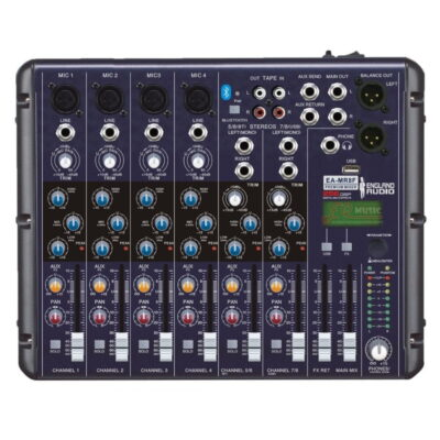 consola england sound 8 canales mr8f - 0
