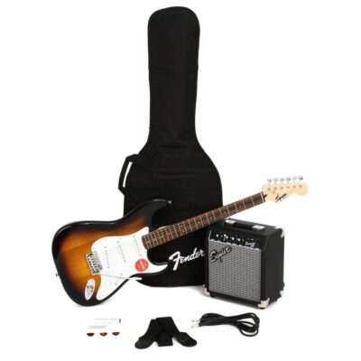 kit squier fender sunburst - 4