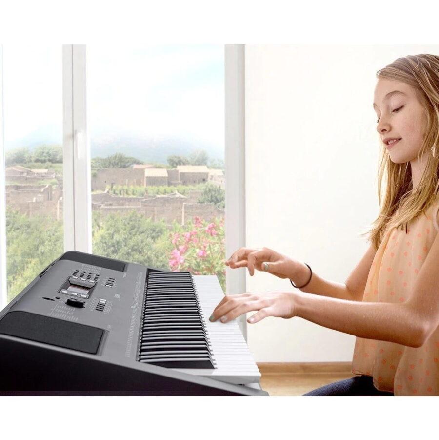 teclado yamaha psr ew300 - 5