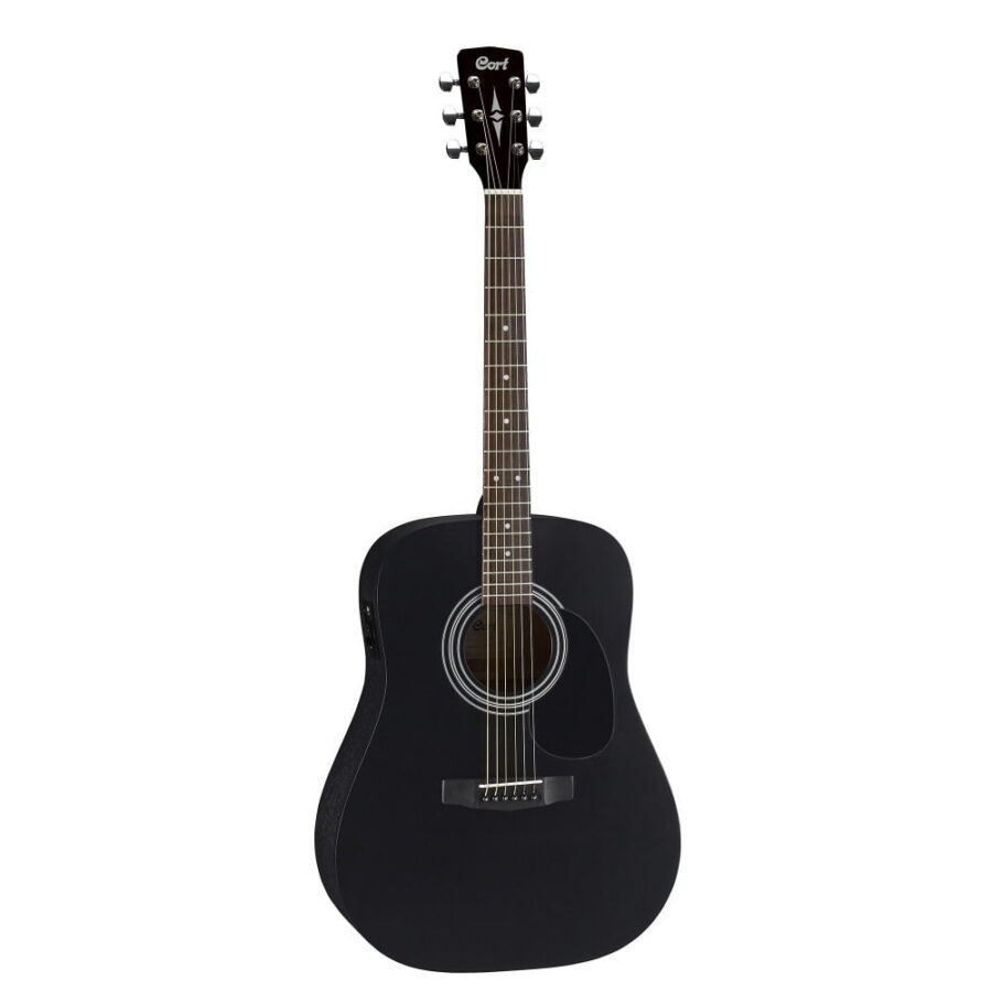 Guitarra Electroacústica cort ad810 bks negra - 1