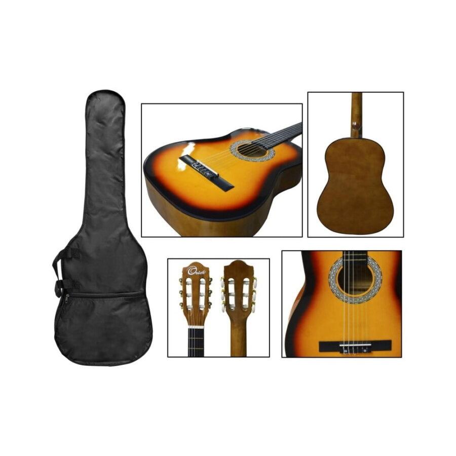 guitarra clasica 38 sumburst lcg831 - 1