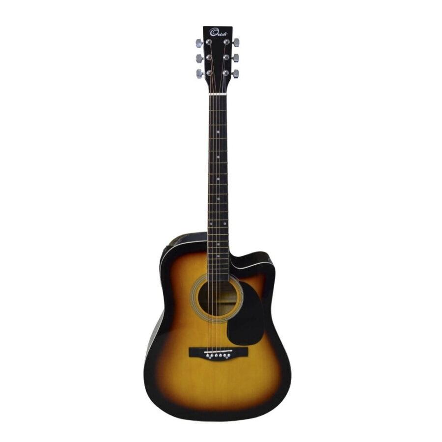 guitarra electroacustica 229ced sunburst - 1