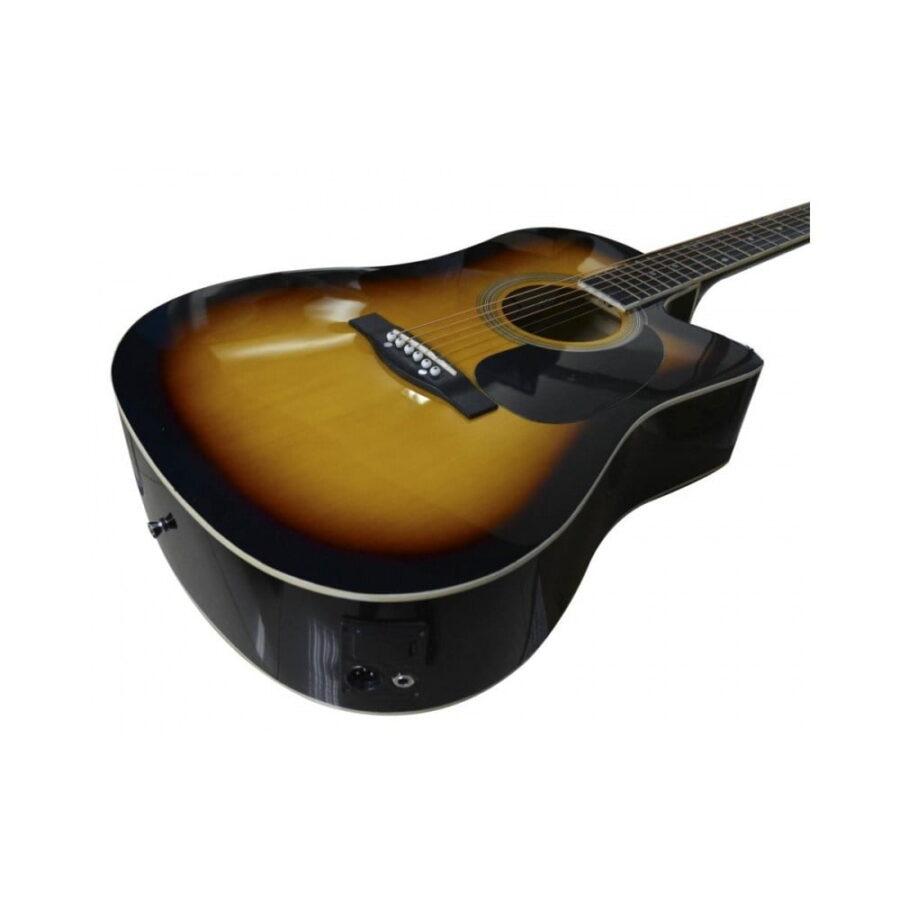 guitarra electroacustica 229ced sunburst - 3
