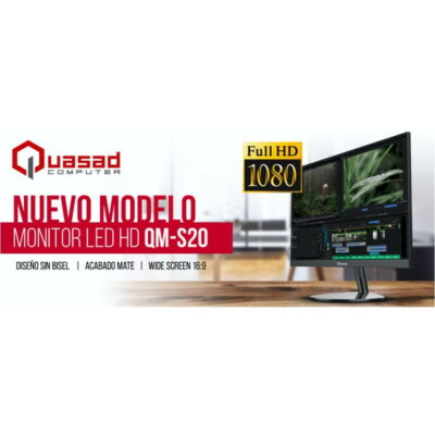 monitor full hd quasad qm-s20 - 7