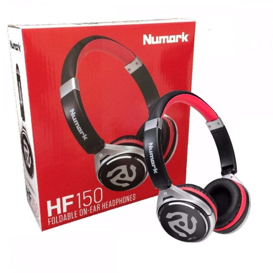 Audífonos HF150 Collapsible DJ Headphones - Numark