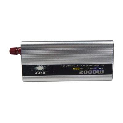 Inversor De Carro 12v A 110v-120v De 2000w - Doxin-1