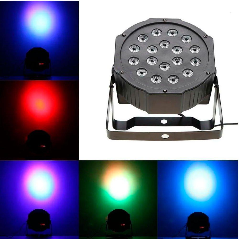 LED Mini Flat Par Light ELT 1860R - England Lighting 🔥 Eqmusic