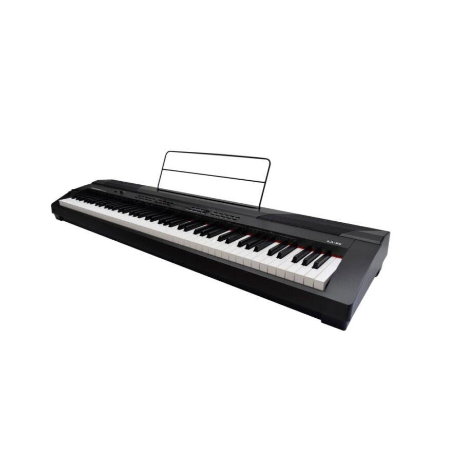 PIANO DIGITAL 88 TECLAS HAMMER PESADAS 20 PRESETS - KA90-1