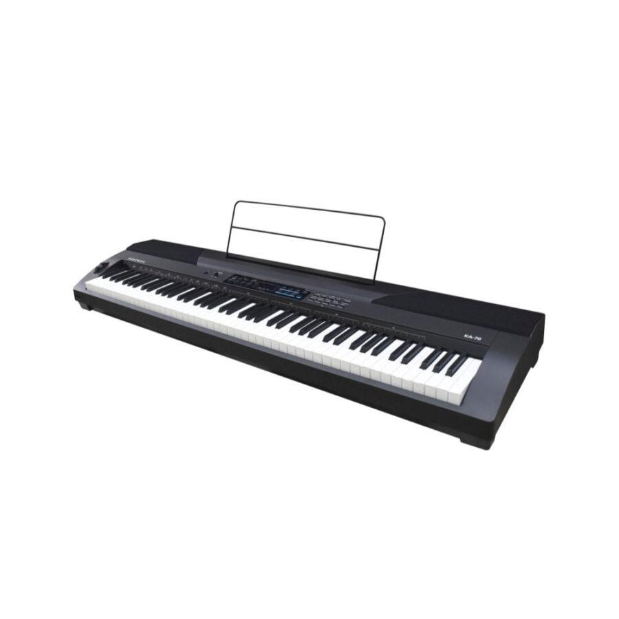 PIANO DIGITAL 88 TECLAS SENSIBILIDAD AJUSTABLE 20 PRESETS - - KA70-3
