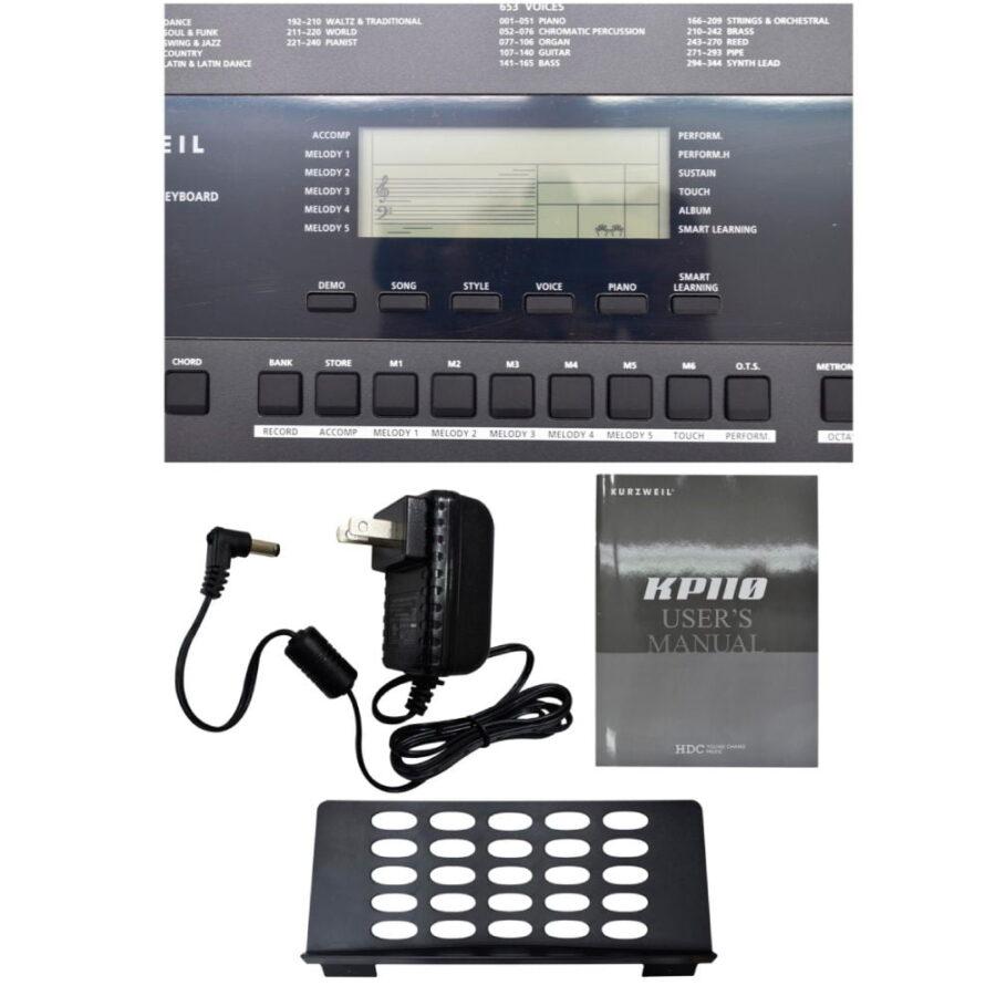 TECLADO ELECTRONICO ARRANGER 61 TECLAS 653 PRESETS - KP110