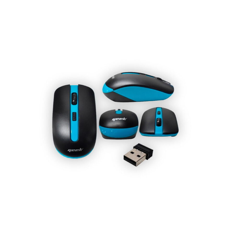 MOUSE INAL 2.4G NEGRO AZUL GMQ7