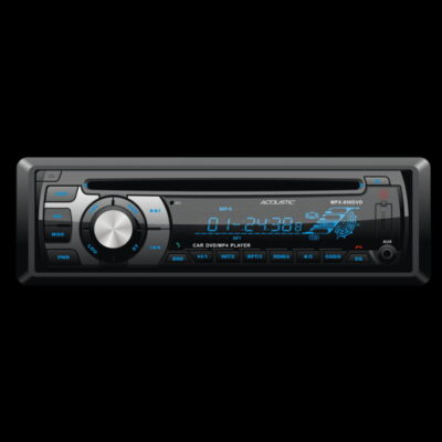 Radio Para Carro FM-AM Tuner stereo LCD Display - Acoustic
