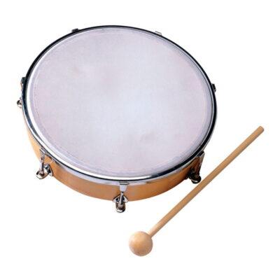 Tambor de mano de madera con Acero - Thunder