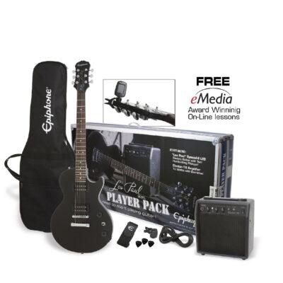 Kit Combo Guitarra Eléctrica Les Paul Amplif. - Epiphone-1