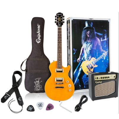 Kit Combo Slash Guitarra Eléctrica Les Paul- Epiphone-1