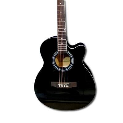 Guitarra Acústica Negra 40″ Pulgadas – Fanatic-5