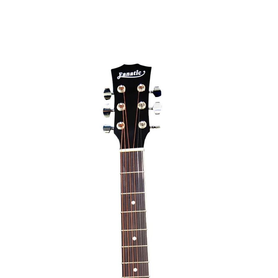 Guitarra Acústica Negra 40″ Pulgadas – Fanatic-6