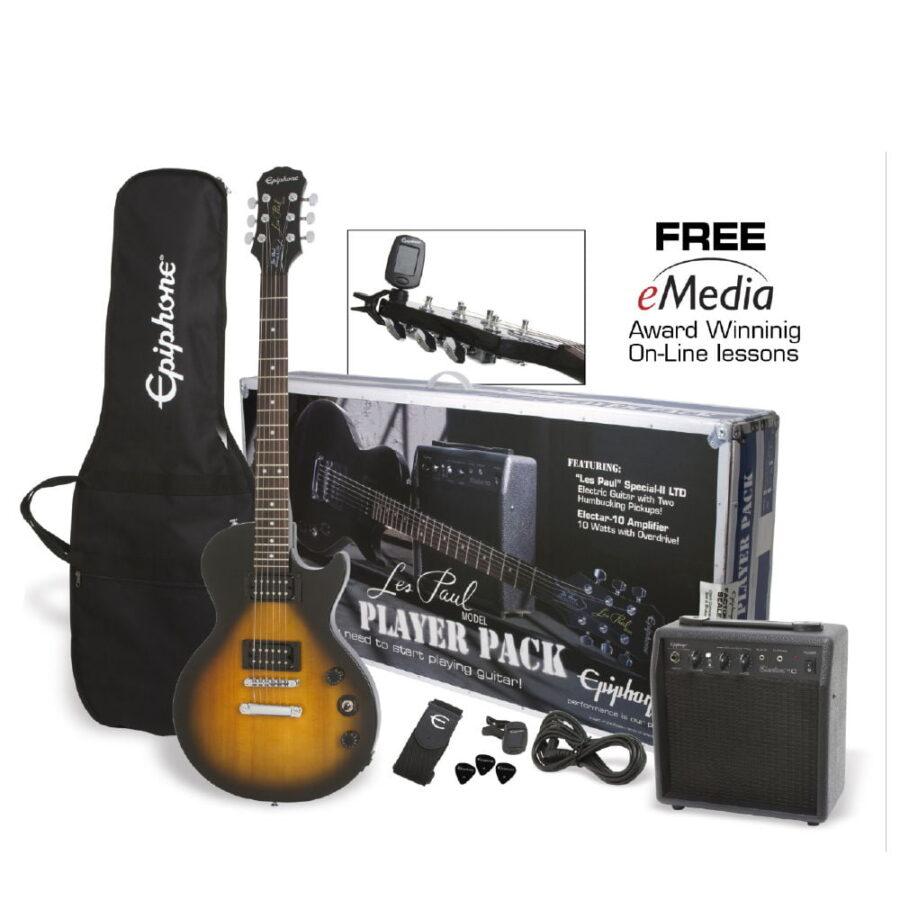 Kit Combo Guitarra Eléctrica Les Paul Amplif. - Epiphone-1-1