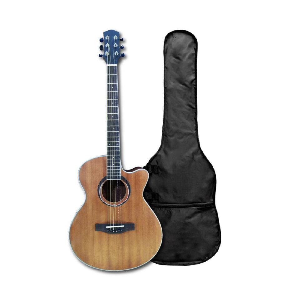 """Guitarra Acústica 40"""" Pulgadas Open Pore - Fanatic"""