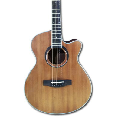 """Guitarra Acústica 40"""" Pulgadas Open Pore - Fanatic-1"""