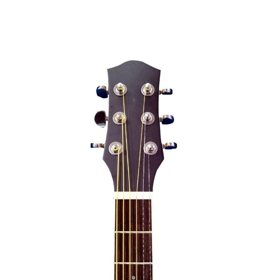 Guitarra Acústica Negra Open Pore 40″ Pulgadas – Fanatic-1