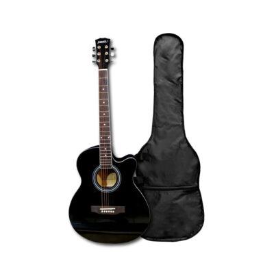 Guitarra Acústica Negra 40″ Pulgadas – Fanatic-4