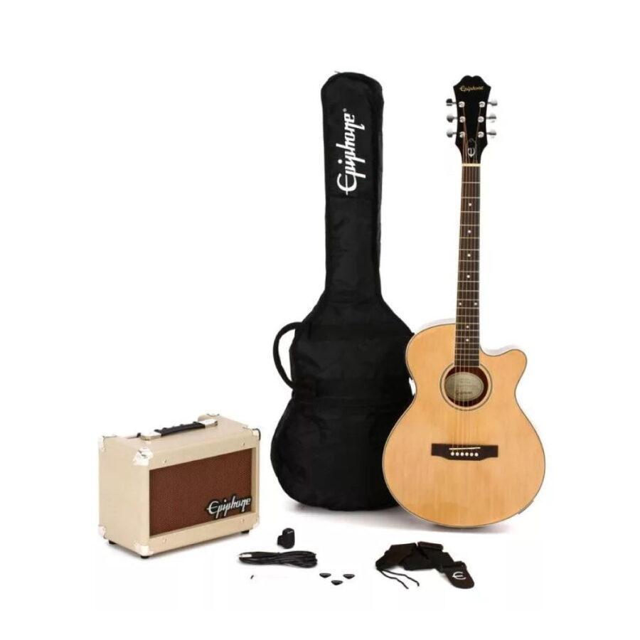 Kit Combo Guitarra Acústica + Amplif. Player Pack - Epiphone-2