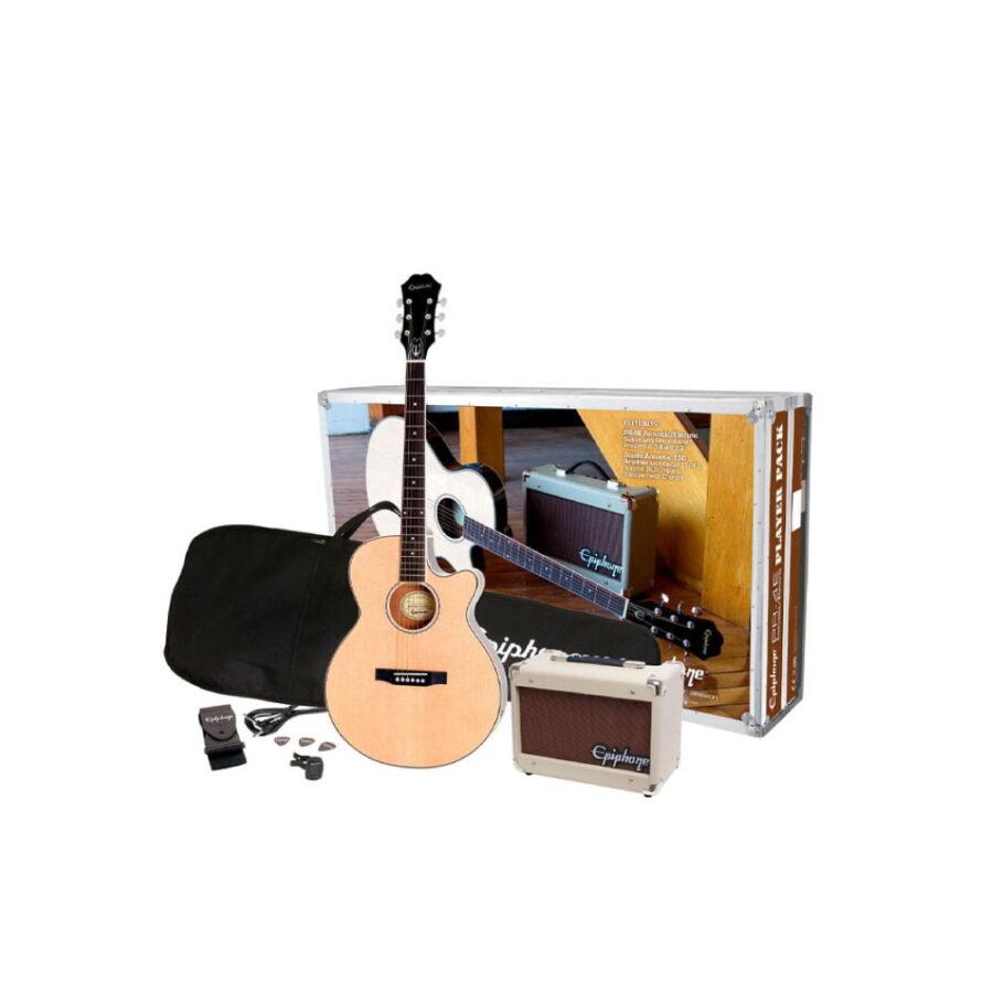 Kit Combo Guitarra Acústica + Amplif. Player Pack - Epiphone-1