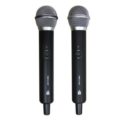 Micrófono Inalambrico Profesional uhf Doble - Topp Pro TWM-U2.200R - 1