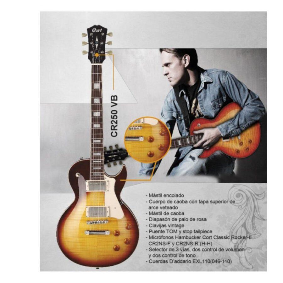 Guitarra Electrica - Cort CR250VB - 1