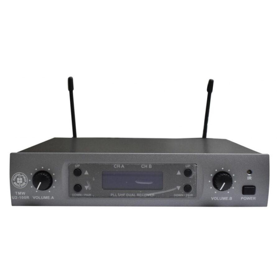 Microfono Inalambrico Profesional - Topp Pro twm-u2.100r-3