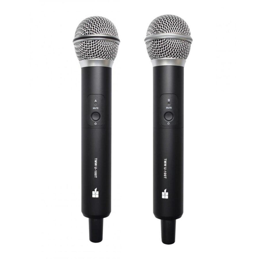 Microfono Inalambrico Profesional - Topp Pro twm-u2.100r-4