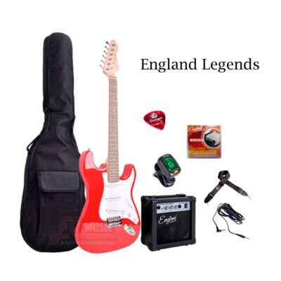 Kit-Guitarra-Electrica-England-Legends---Rojo