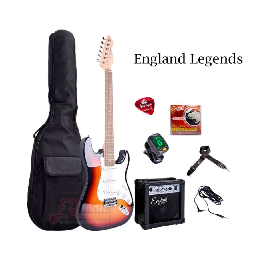 Kit-Guitarra-Electrica-England-Legends---Sumburst