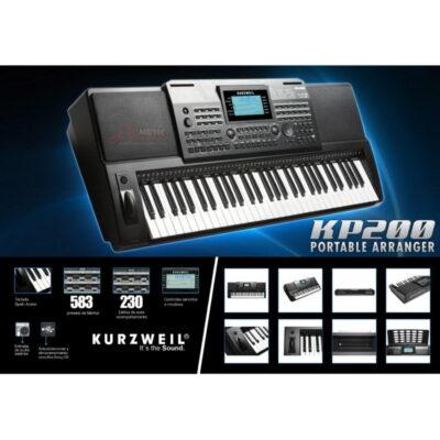 Teclado Electronico Kurzweill Kp200 - 1