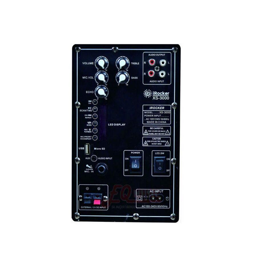Caja Recargable IRocker - XS-3000 - 1